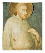 Saint Francis Fleece Blanket