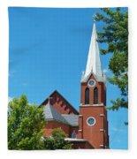 Saint George Church Fleece Blanket