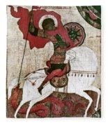 Saint George Fleece Blanket