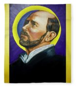Saint Ignatius Loyola Fleece Blanket