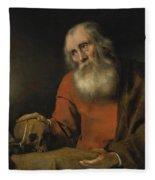 Saint Jerome Fleece Blanket