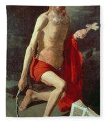 Saint Jerome Fleece Blanket