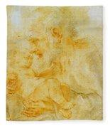 Saint Joseph Fleece Blanket