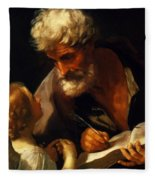 Saint Matthew 1621 Fleece Blanket