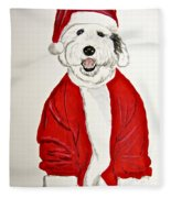 Saint Nick Fleece Blanket