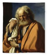 Saint Peter Penitent Fleece Blanket