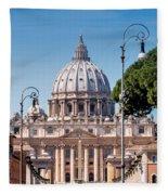Saint Peter's Tomb Fleece Blanket