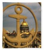 Saint Petersburg Fleece Blanket