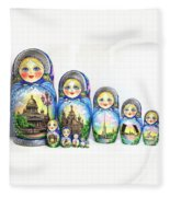 Saint Petersburg  Fleece Blanket