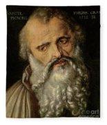 Saint Philip The Apostle Fleece Blanket