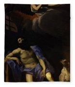 Saint Roch 1617 Fleece Blanket