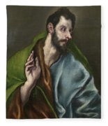 Saint Thomas Fleece Blanket