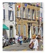 Saint Tropez Moment Fleece Blanket