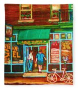 Saint Viateur Bakery Fleece Blanket