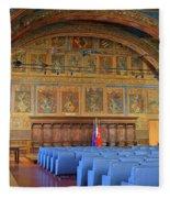 Sala Dei Notari 13th Century Fleece Blanket