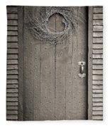Salem Door Fleece Blanket