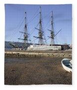 Salem Maritime National Historic Site In Salem  Massachusetts Usa Fleece Blanket