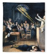 Salem Witch Trial, 1692 Fleece Blanket