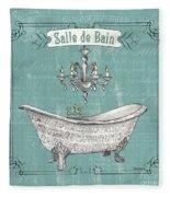 Salle De Bain Fleece Blanket