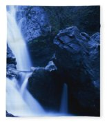 Salmon Creek Falls Fleece Blanket