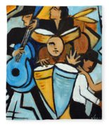 Salsa Night Fleece Blanket