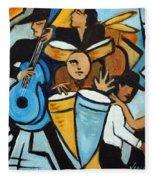 Salsa Night Fleece Blanket