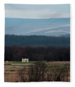 Salt Box House Fleece Blanket