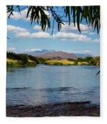 Salt River Arizona Fleece Blanket