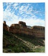 Salt River Canyon Arizona Fleece Blanket