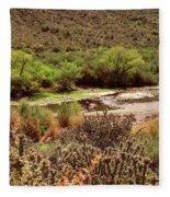 Salt River Serenity Fleece Blanket
