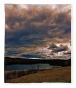 Saltmarsh Pond Gilford Nh Fleece Blanket