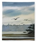 Saltwater Bay Fleece Blanket
