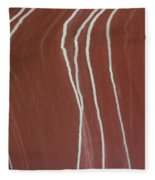 Saltwater Trails #2 Fleece Blanket