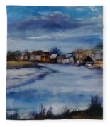 Saltwater Village Riverside Fleece Blanket