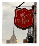 Salvation Army New York Fleece Blanket