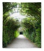 Salzburg Garden Arbor Fleece Blanket