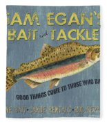 Sam Egan's Bait And Tackle Fleece Blanket
