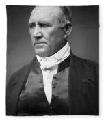 Sam Houston  1849 Fleece Blanket