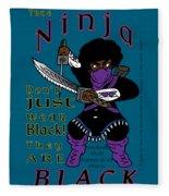 True Ninja Fleece Blanket