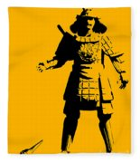Samurai Fail Fleece Blanket