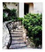 San Antonio Stairway Fleece Blanket