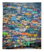 San Cristobal Fleece Blanket