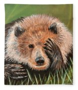 San Diego Bear Fleece Blanket