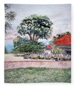 San Francisco Park Presidio Fleece Blanket
