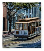 San Francisco, Cable Cars -2 Fleece Blanket