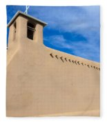 San Francisco De Assisi Church Fleece Blanket