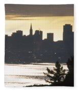 San Francisco - From Tamalpais East Fleece Blanket