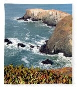 Marin Headlands Bunker Fleece Blanket
