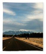 San Francisco Peaks Fleece Blanket