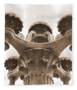 San Francisco Street Lamp Fleece Blanket